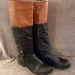 Cute Black and Brown Riding Boots